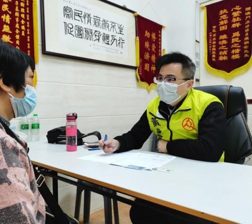 【民建聯】黃飛獅籲居民提升防火意識保障居家安全