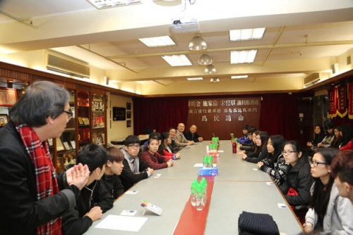 3月1日澳門理工學院學生與議員交流