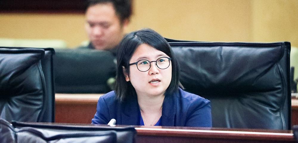 宋碧琪問電信網級及服務匯流制度立法進度