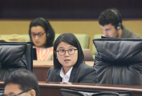 【施政方針答辯】宋碧琪關注公職人員及法律人才培育問題