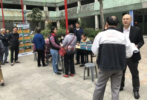 筷子基市民服務日 兩議員聽取民聲接受居民求助