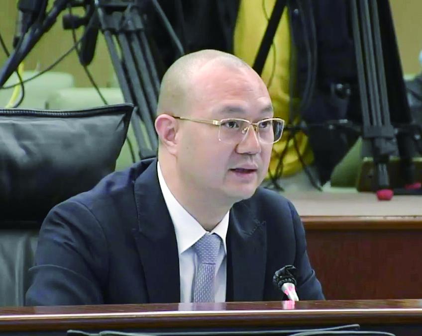 施家倫:正視問題 迎難而上 保居民就業 促經濟發展