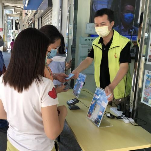 【電子消費卡】民众建澳聯盟設五服務點 便利民眾充值